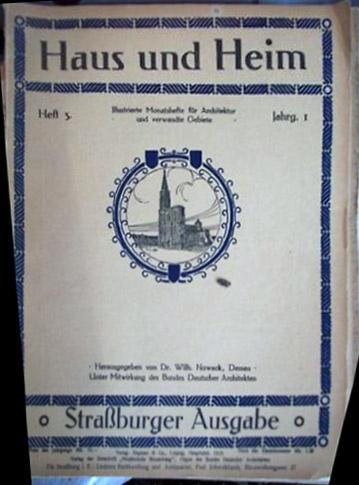 Klassische bauzeitschriften for Innendekoration 1915